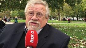 Chartista, politolog a bývalý poslanec i senátor Daniel Kroupa při rozhovoru pro Blesk.cz