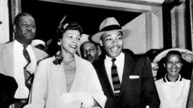 Martin Luther King s manželkou Corettou Scott Kingovou