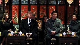 Vřelost mezi vůdci USA a Číny je s vyhroceným obchodním sporem pryč