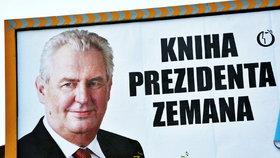 Za reklama na knihu rozhovorů s Milošem Zemanem má nakladatelství Olympia zaplatit pokutu 40 000,- Kč