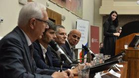 Debata prezidentských kandidátů na právnické fakultě