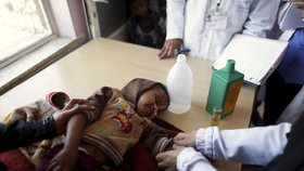 Hladomor v Jemenu.