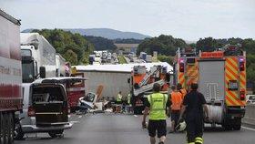 Dopravní nehoda v Německu (ilustrační foto)