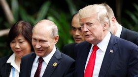 Prezidenti Trump a Putin si báječně rozumí