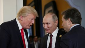 Prezidenti USA a Ruska Donald Trump a Vladimir Putin