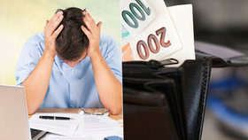 Dluh Čechů loni stoupl o 178 miliard na 2,14 bilionu Kč.