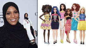 Barbie poprvé v hidžábu: Hračku firma vymodelovala podle olympijské šermířky.