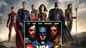 Liga spravedlnosti: Tým komiksových hrdinů od DC zachraňuje svět v českých kinech od 16. 11. 2017.
