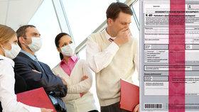 Někteří zaměstnavatelé si stěžují na nefunkčnost e-neschopenek (ilustrační foto).