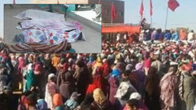 Dav v Maroku ušlapal 15 lidí.