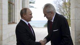 Zeman se s Putinem setkal i v Soči