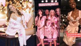 Jak vypadalo zákulisí módní show Victoria's secret?
