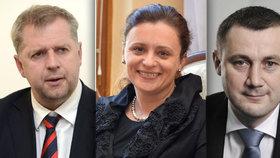 Hejtmanka Jaroslava Jermanová a hejtman Martin Půsta se vzdají zřejmě ve středu poslaneckých mandátů. Za pár hodin práce dostanou 142 tisíc korun. S prázdnou neodejde také vyšachovaný Petr Bendl.