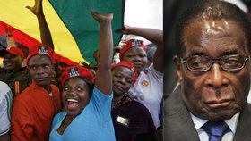 Zimbabwe bude mít nového prezidenta: Mugabe rezignoval, v ulicích Harare se slaví.