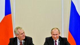 Miloš Zeman se v Rusku setkal s Vladimírem Putinem a účastnil se také rusko-českého ekonomického fóra. Kde kritizoval Rusko za článek o okupaci Československa.