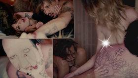 Kamarádi Marilyn Manson a Johnny Depp to pořádně rozjeli: V novém videoklipu si to rozdali ve čtyřech