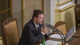 Radek Vondráček (ANO) byl na ustavující schůzi zvolen novým předsedou Poslanecké sněmovny.