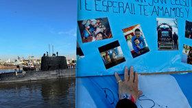 Posádka zmizelé ponorky je po smrti.