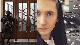 Soudní jednání o tom, zda může být hacker Jevgenije Nikulin vydán do USA, střežila ozbrojená policie.