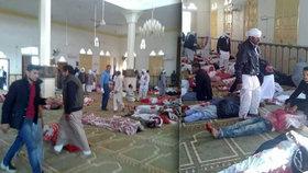 Ozbrojenci na Sinaji zaútočili na mešitu plnou civilistů, stovky jich povraždili.