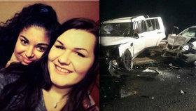 Tragickou nehodu zavinilo předjíždění: Lívie (†19) s kamarádkou srážku nepřežily.