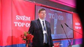 Předsedou TOP 09 se v neděli 26. listopadu 2017 stal europoslanec Jiří Pospíšil.