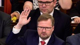 Petr Fiala je místopředsedou Sněmovny.