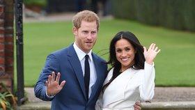 Harry a Meghan stanovili datum svatby na 19. května 2018