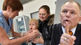 Eurokomisař Andriukaitis pro Blesk podpořil očkování dětí.