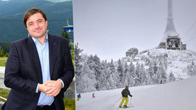 Firma slovenského miliardáře Igora Rattaje si na deset let pronajala sjezdovky na Ještědu.