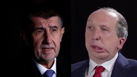 Šéf ANO Andrej Babiš (vlevo) a poslanec ODS Václav Klaus ml. by mohli najít společnou řeč.