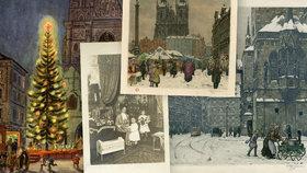 Výstava ve Ctěnicích mapuje Vánoce v Praze v minulosti. Máte doma také retro fotky vašich Vánoc? Pošlete nám je na tip@blesk.cz