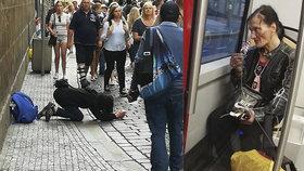 Fotograf Tomáš Třeštík potkal Katku, jak žebrá v centru Prahy
