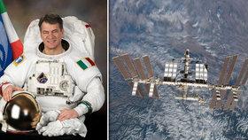 Česko se poprvé spojilo s astronautem na Mezinárodní vesmírné stanici, na otázky středoškoláků a jejich učitelů odpovídal Paolo Nespoli.