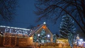 Toto je nejosvětlenější vánoční dům Česka.