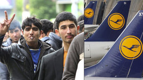 Němečtí piloti se nechtějí podílet na deportaci uprchlíků.