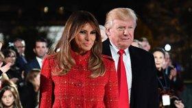 Melanie a Donald Trumpovi