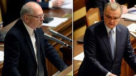 Sněmovna schválila základní údaje státního rozpočtu na příští rok.