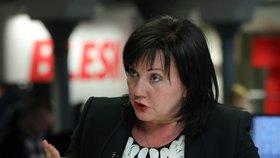 Budoucí ministryně financí Alena Schillerová vysvětlovala ve Studiu Blesk pohled ministerstva na kauzu FAU.