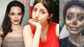 Sahar Tabar šla s pravdou ven. Fotky, na nichž vypadá jako vyhublá Angelina Jolie, upravila ve photoshopu.