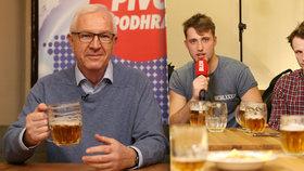 Drahoš u piva: Babiše zvládnu, žádný z premiérů si mě na chleba nenamazal