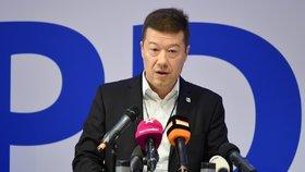 Tomio Okamura na sjezdu SPD
