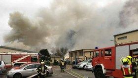 Mohutná exploze u slovenských hranic