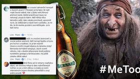 Pivovar Bernard se na svém facebookovém profilu vymezil vůči kampani MeToo, sklidil za to pochvaly i kritiku.