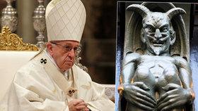 Papež považuje ďábla za skutečnou osobu.