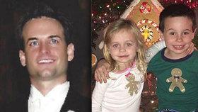 Chirurg Christopher Dawson zastřelil své malé děti, protože si myslel, že po něm zdědí silné deprese.