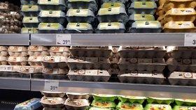 Kam se poděla česká vejce? Regály jsou plné levnějších zahraničních (ilustrační foto)