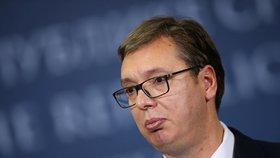 Srbský prezident Aleksandar Vučić dostal výhrůžný dopis podepsaný, jako by ho poslali chorvatští ustašovci.