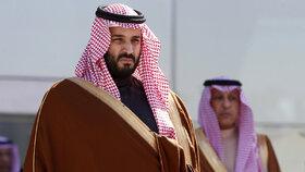 Saúdský princ Muhammad bin Salmán.