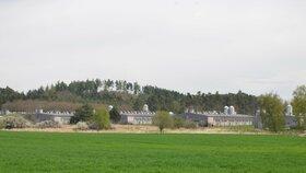 Na místě romského koncentračního tábora v Letech u Písku stojí vepřín